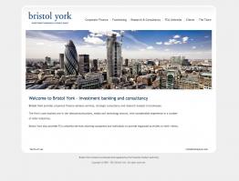 Bristol York corporate finance website